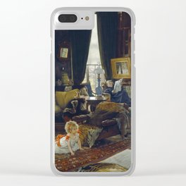 James Tissot - Hide And Seek Clear iPhone Case