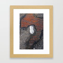 Her Secret Past Framed Art Print