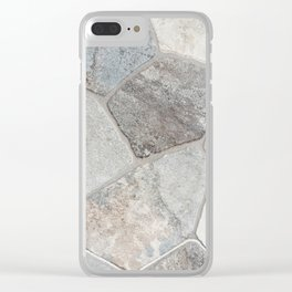 Natural Stone Clear iPhone Case