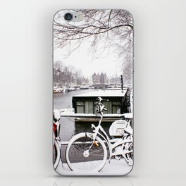 AMSTERDAM / Snow iPhone Skin
