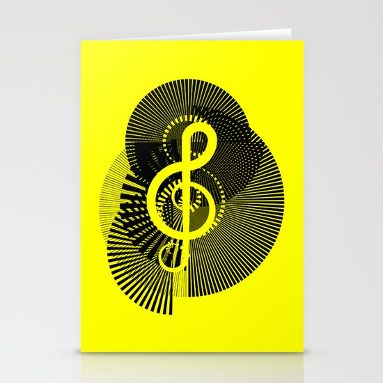 Clef Stationery Cards