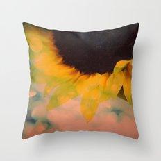 Sunflower II (mini series) Throw Pillow