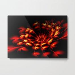Feuerblume Metal Print