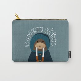 Walrus by Darah King Carry-All Pouch