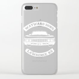 Wayward Sons Clear iPhone Case