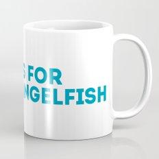 A is for Angelfish - Animal Alphabet Series Mug