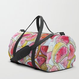 Grapefruit Watercolor Duffle Bag
