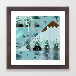 A Coded Message #1 Framed Art Print