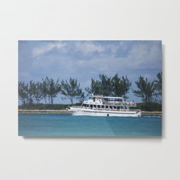 Bahamas Cruise Series 140 Metal Print