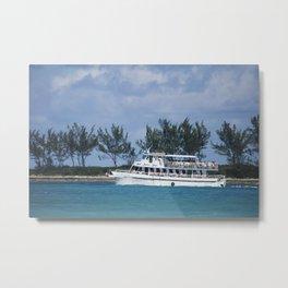 Bahamas Cruise Series 140 Metal Print