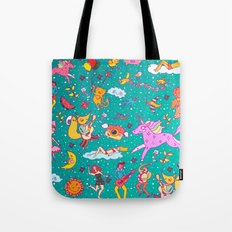 fairy pattern Tote Bag