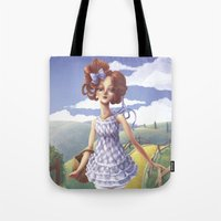 dorothy Tote Bags featuring Dorothy by FReMO