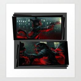 Mordecai and Viktor Art Print