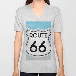 Route 66 Unisex V-Neck