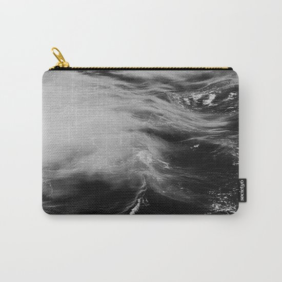 WAVES B&W Carry-All Pouch