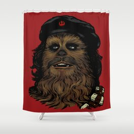 Che Bacca Rebel Shower Curtain