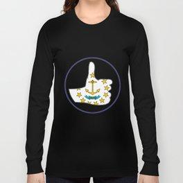 Thumbs Up Rhode Island Long Sleeve T-shirt