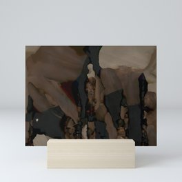 Texture (cropped) Mini Art Print
