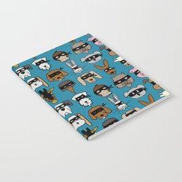 Ninja Animal Gang - Blue Notebook