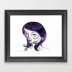 Lovely Rita Framed Art Print