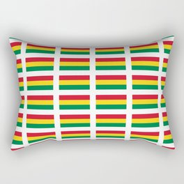 flag of bolivia 2 -bolivian,boliviano,bolivian,Sucre, La Paz. Rectangular Pillow