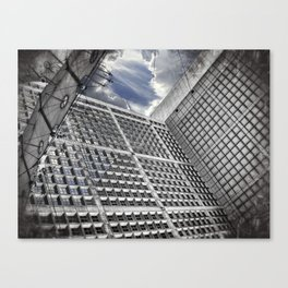 Arche de la Défense Paris [Sky cut N°421] France Canvas Print