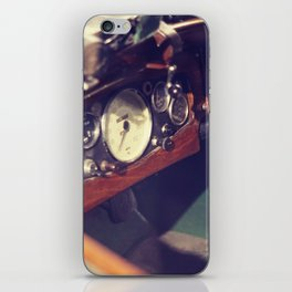 Classic Car Dashboard iPhone Skin