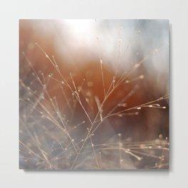 Nature Sparkles Metal Print
