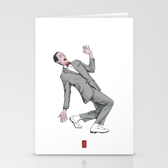 Pee Wee Herman #2 Stationery Cards