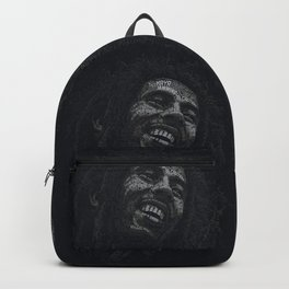 Tuff Gong Marley Text Art Backpack
