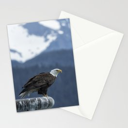 Bald Eagle of Resurrection Bay, No. 1 Stationery Cards