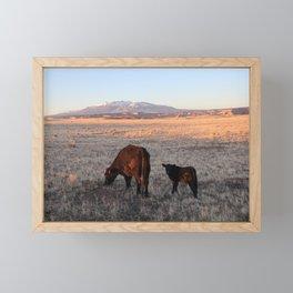 Mother Utah Framed Mini Art Print