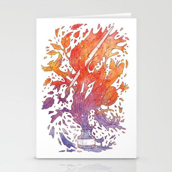 draw itself Stationery Cards