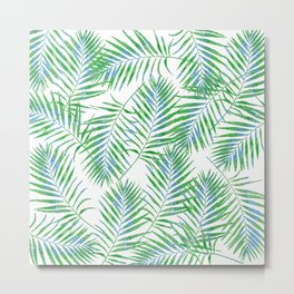 Fern Leaves Metal Print