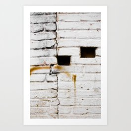 Brink and Paint Art Print