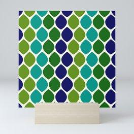 Abstract Snakeskin Pattern Mini Art Print