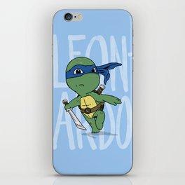 TMNT: Leonardo (Cute & Dangerous) iPhone Skin