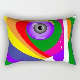 Eye Sax Rectangular Pillow