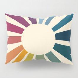 Retro Blossom Pillow Sham