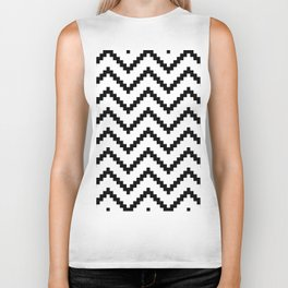 Tribal Chevron W&B Biker Tank