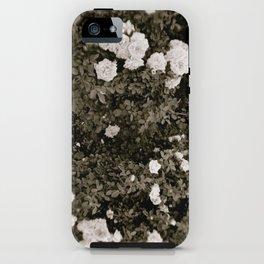 B&W Rose iPhone Case