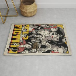 Pulp Fiction Movie Poster - Quentin Tarantino Rug