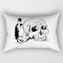 Skull Abuse  Rectangular Pillow