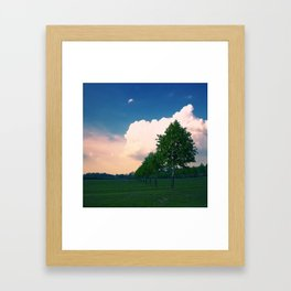 Cotswold Haze Framed Art Print