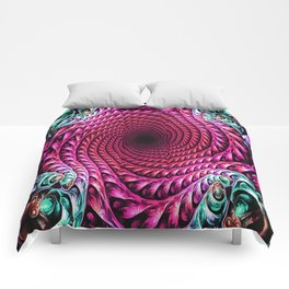 Down The Spiral Comforters