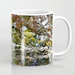 Abstract Tree Reflection Coffee Mug