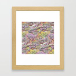 Life in Death Valley Framed Art Print