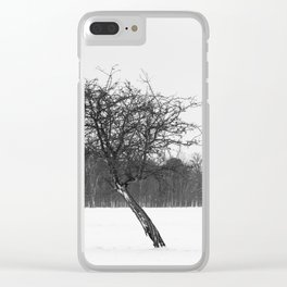 Tree in the winter (RR 273) Clear iPhone Case