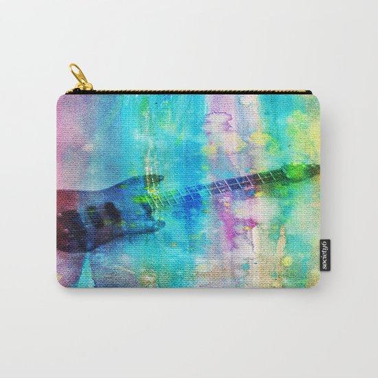 Rainbow Guitar Carry-All Pouch