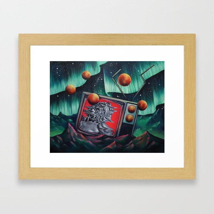 Locoon's Nightmare Framed Art Print